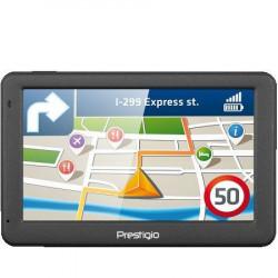 """Prestigio GeoVision 5059 (5.0"""", TFT, 480?272, Win CE 6.0, CPU MSTAR 2531A 800 MHz, 128 MB RAM, 4 GB internal, FM, 950 mAh, Dark Grey, Plast"""