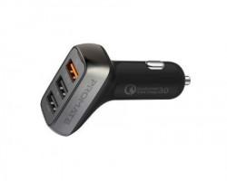 Promate Scud-35 punjac za auto 3.0 triple USB port