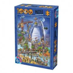 Puzzle 1000PCS CARTOON COLLECTION 12 ( 07/61218-12 )