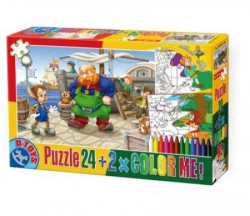 Puzzle 24+ color me Fairy tales 05 ( 07/50380-05 )