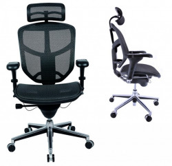 Radna ergonomska stolica - Enjoy (mreža + mreža)