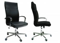Radna Fotelja visoka - Nero H (eko koža u više boja)