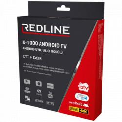 Redline android modul S2 tuner, H.265, WiFi ( K1000 )