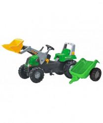 Rolly Toys Traktor junior sa kašikom i prikolicom ( 812202 )