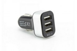 S BOX CC - 331 2.1A Black Car USB Charger