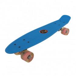 Skejtbord SIMPLE za decu sa svetlećim točkovima - Plavi ( TS-001 )