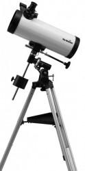 SkyWatcher skyhawk-1145P (114/500) newtonian reflector on EQ1, white tube ( SWN1145weq1 )