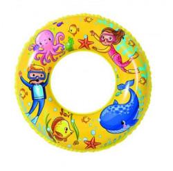 Šlauf za plivanje Sea Fish 60 cm - Žuti ( 26-205000 )