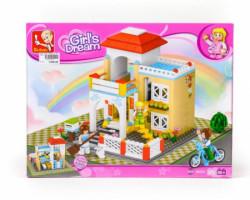 Sluban kocke, slatka kuća, 381 kom ( A016150 )