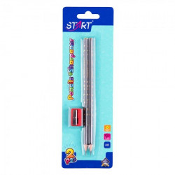 Start olovke grafitne stars 2kom i zarezaČ na blisteru start ( STR6103 )