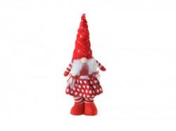Sweetums, novogodišnja dekoracija, patuljak, devojčica, 50cm ( 790013 )