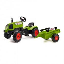 Traktor na pedale Falk Claas Arion sa prikolicom 2041c