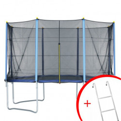 Trambolina + mreža set 422 cm - do 150 kg + merdevine