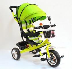 Tricikl Guralica Playtime AM 406 - Zeleni + Mekano sedište