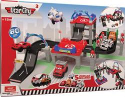 Ucar city 3 garaža 80kom igračka ( UT200 )