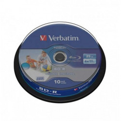 Verbatim 43804 BLU-RAY Printable 25GB 6X ( 525VSP/Z )