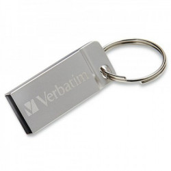 Verbatim USB FLASH MEMORIJE 16GB 2.0 METAL EXECUTIVE SILVER ( UFV98748 )
