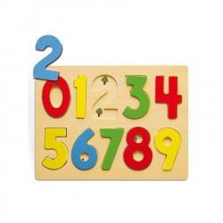 Viga 58545 Drvena umetaljka broj-skup