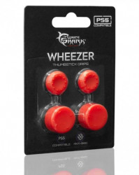 White shark PS5 817 wheezer red silicon thumbstick