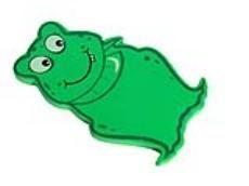 Womax jastuk za klečanje - žaba ( 0325152 )