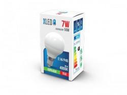 Xled led sijalica E14/7W/P45/4000K/560LM/25.000H/230V/ ( E147P45XD/Z )