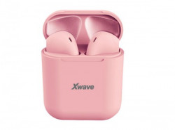 Xwave BT TWS stereo slusalice sa mikrofonom v5.0 + EDR/baterija 45mAh/2-3h/kutija-baza za punjenje 350mAh ( Y10 pink )
