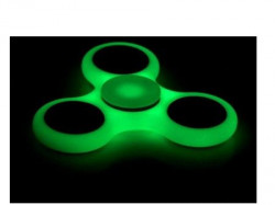 Xwave Spinner triangle svetleći u mraku Green