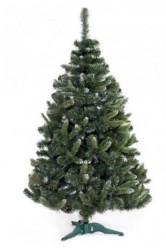 Zelena novogodišnja jelka sa belim vrhovima 120 cm