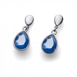 Ženske Oliver Weber Delite STE Royal Blue Mindjuše Sa Swarovski Plavim Kristalom
