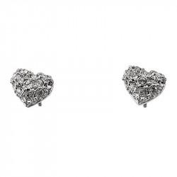 Ženske Oliver Weber Full Heart Crystal mindjuše sa swarovski belim kristalom