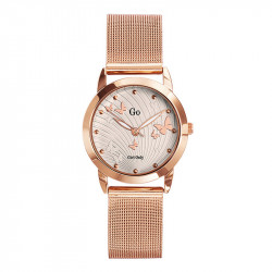 Ženski Girl Only Envole moi Roze Zlatni Modni ručni sat sa pancir metalnim kaišem