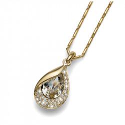 Ženski Oliver Weber Hidden Gold Crystal Zlatni Lančić sa swarovski kristalnim priveskom