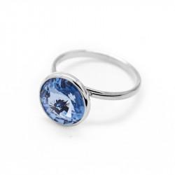 Ženski Victoria Cruz Basic M Light Sapphire Prsten Sa Swarovski Plavim Kristalom