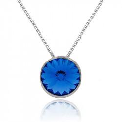 Ženski Victoria Cruz Basic M Sapphire Lančić Sa Swarovski Plavim Kristalom