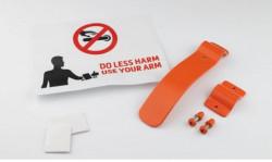 Antivirus kvaka - za prevenciju širenja virusa - Narandžasta