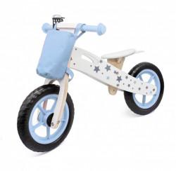 Balance Bike 755 Drveni Bicikl bez pedala za decu - Plavi