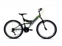 "Bicikl Green Boom 26"" 18ht crno-zeleno 16"""