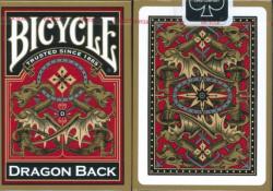 Bicycle Gold Dragon Karte ( 1025004 )