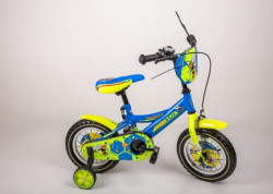 "BMX Hornet Bicikl 12"" Žuto-Plavi"