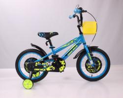 """BMX Tiger Bicikl 16"""" žuto-plavi"""