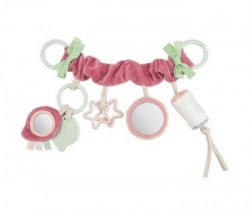 Canpol babies igračka za kolica niz pastel friends - pink 68/072 ( 68/072_pin )