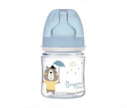 Canpol baby flasica 120ml siroki vrat, pp - bonjour paris 35/231 blue ( 35/231_blu )