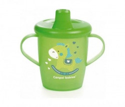 Canpol baby šolja 250ml non spil 31/200 toys - green ( 31/200_gre )