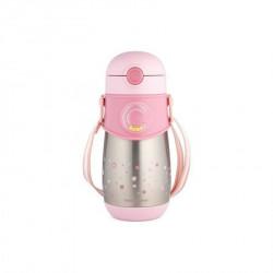 Canpol baby thermal solja 300 ml sa slamcicom 74/054 - pink ( 74/054_pin )