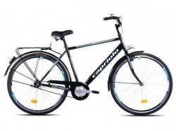 """Capriolo amsterdam man bicikl 28"""" crno-sivo-plavi 21"""" Ht ( 914275-21 )"""