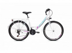 "Capriolo bicikl metropolis lady 26""/18ht belo-pistacija 19"" ( 918402-19 )"