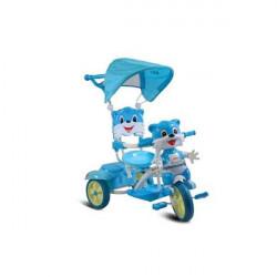 Capriolo tricikl sa drškom i suncobranom plavi ( 290084 )