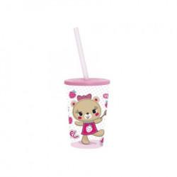Čaša pink teddy ( 48/06402 )