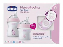 Chicco poklon set Naturalfeeling za devojcice ( A009095 )