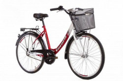 "CITY Bicikla V-Bike Lux 26"" crvena/bela ( 460098 )"
